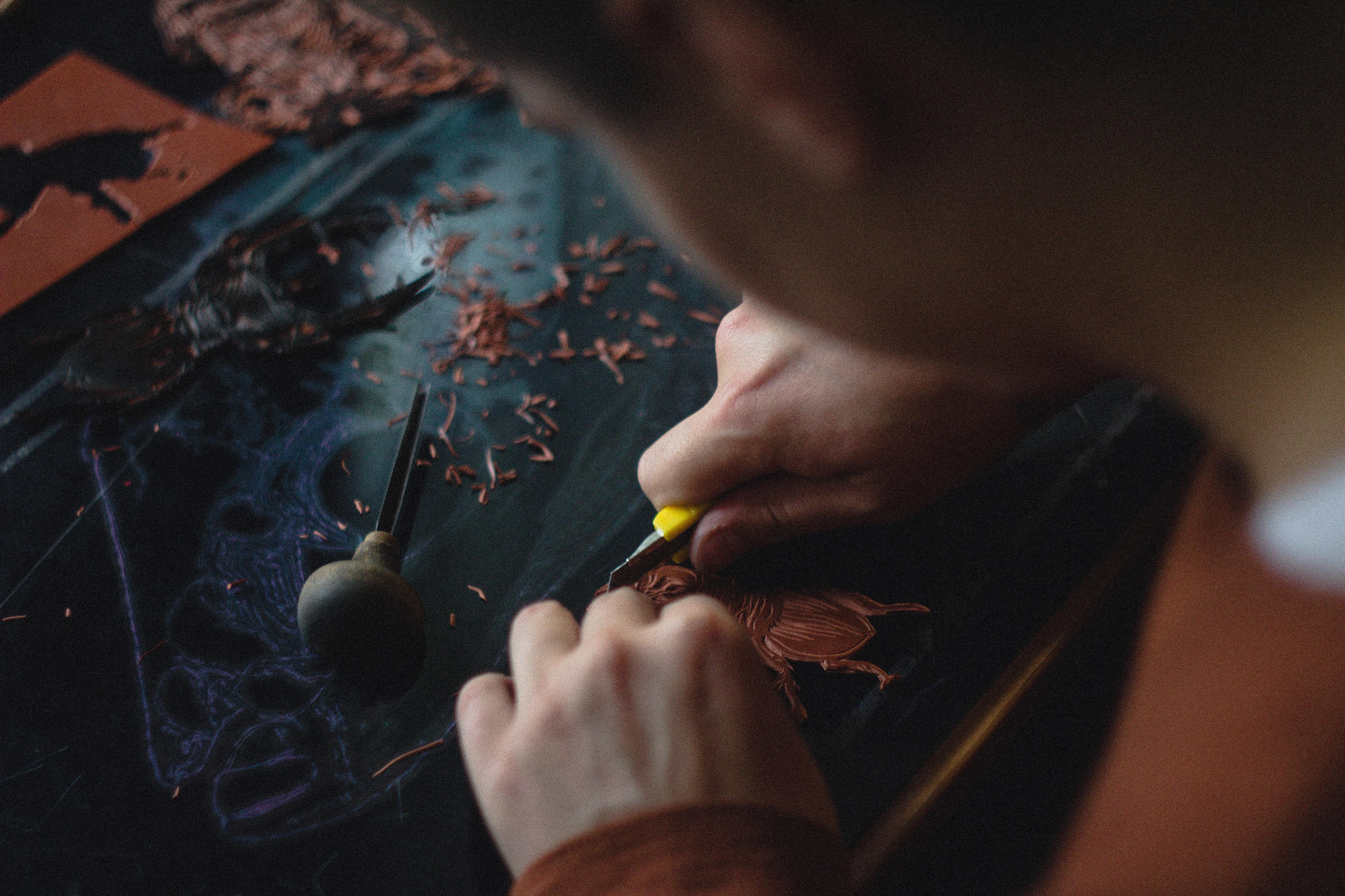 Linogravure Blink Art Store